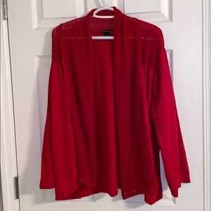 New Directions Red Sweater 3X